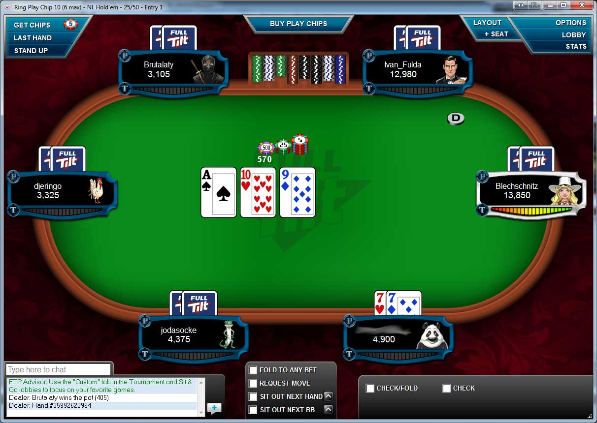 Full tilt poker usa casino malte st julians